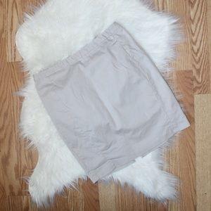 Express Tan Pencil Skirt 6 EUC